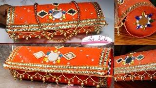 getlinkyoutube.com-How to make bangle box | DIY | artkala