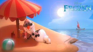 "getlinkyoutube.com-Frozen ""In Summer"" song -- Official 