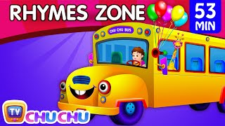getlinkyoutube.com-Wheels On The Bus | Popular Nursery Rhymes Collection for Children | ChuChu TV Rhymes Zone