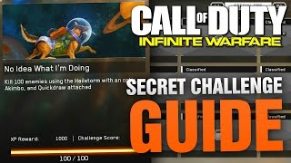 "getlinkyoutube.com-HOW TO UNLOCK THE SECRET CHALLENGE ""No Idea What I'm Doing"" in Infinite Warfare - COD IW Spec Ops"