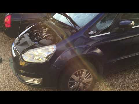 How to replace diesel fuel filter Ford Galaxy 2.0 TDCi MK3 WA) Volvo v50