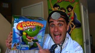 getlinkyoutube.com-Crocodile Dentist Game Unboxing!    Best Board Game Reviews    Konas2002