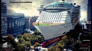 getlinkyoutube.com-Wonders of World:Top 5 Largest Cruise Ships by class in 2016