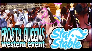 getlinkyoutube.com-Star Stable - Western Mustang Show - Frosty Queens Event
