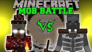 getlinkyoutube.com-FIRE WITCH VS MUTANT SKELETON - Minecraft Mob Battles - Mods
