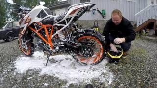 getlinkyoutube.com-KTM 1290 Superduke R special edition - Dirty Beast