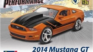 How to Build the 2014 Ford Mustang GT 1:25 Scale Revell Model Kit #85-4379 Review