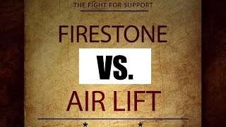 Air Lift vs Firestone: Which One is Better? SD Truck Springs - 1(877)774-6473