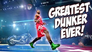 getlinkyoutube.com-The Greatest Dunker Of All-Time Joins The Slam Dunk Contest! - NBA 2K15 MyCareer #46