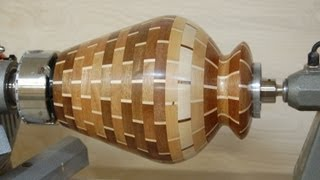 getlinkyoutube.com-Woodturning Project - How to Turn a Segmented Vase - Designs in Wood