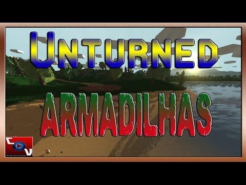 Unturned - Como fazer Armadilhas/Traps # 14