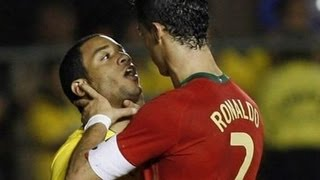 getlinkyoutube.com-Cristiano Ronaldo - Love him or hate him - Best Fights