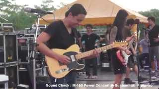 getlinkyoutube.com-Bodyslam : Sound Check M-150 Power Concert @ Suphanburi