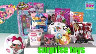 getlinkyoutube.com-LOL Surprise Disney Moana Trolls Shopkins MLP Num Noms Blind Bag Fun | PSToyReviews