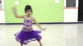 RADHA ON DANCE FLOOR (STUDENT OF THE YEAR)