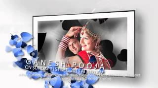 getlinkyoutube.com-After Effects Wedding Title Blue love leaft
