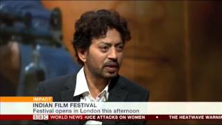 getlinkyoutube.com-Bollywood Star Irrfan Khan on BBC World News