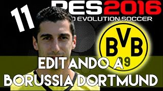 getlinkyoutube.com-PES 2016 | Abilities and face stats of Mkhitaryan | Editando a Borussia Dortmund #11 | PS4.