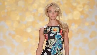 New York Fashion Week Catwalk AW'14 with Candice Swanepoel by Desigual