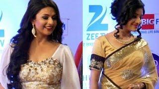 getlinkyoutube.com-Divyanka & Paridhi EXPLORE their Golden Beauty | Gold awards 2015
