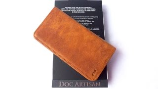 getlinkyoutube.com-Doc Artisan Leather Wallet Case for iPhone 6 Plus: Fabulous!