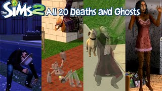 getlinkyoutube.com-The Sims 2 All 20 Deaths and Ghosts (University-Apartment Life)