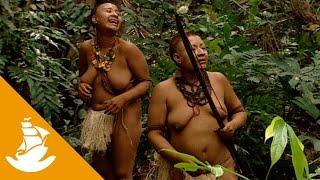 getlinkyoutube.com-Akuntsu women hunting