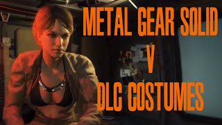 getlinkyoutube.com-【MGS5】  MGS3 DLC Costumes (Tuxedo Snake, EVA, The Boss)