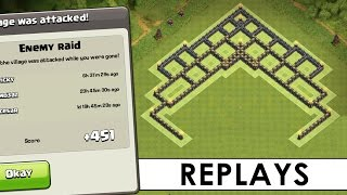 getlinkyoutube.com-Clash of Clans   TH8 Master League Trophy Base   Town Hall 8 Trophy Base Defense Replay [2016]