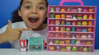 New Shopkins Season 4! | Food Fair Candy Collection | Collectors Case