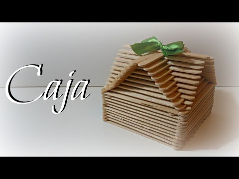 TUTORIAL: Caja fácil con palitos de madera | Caja Original | Mundo@Party