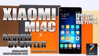 getlinkyoutube.com-Xiaomi Mi4C (In-Depth Review) Edge Tap & USB Type-C - Video by s7yler