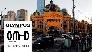 How to create Time Lapse movies with the OMD EM 10 Mark II