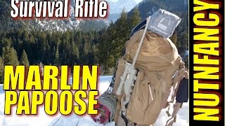 getlinkyoutube.com-Marlin Papoose: Best Bugout Rifle in the World?