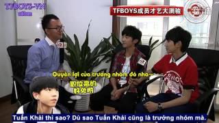 """getlinkyoutube.com-[TFBOYS-VN][Vietsub] TFBOYS Phỏng vấn """"Bản tin giải trí Trung Quốc"""""""