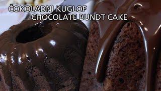 getlinkyoutube.com-ČOKOLADNI KUGLOF // CHOCOLATE BUNDT CAKE