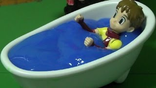 getlinkyoutube.com-또봇 장난감 목욕놀이 Tobot Toys Bath Time