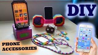 getlinkyoutube.com-5 DIY Perler Bead Phone Accessories