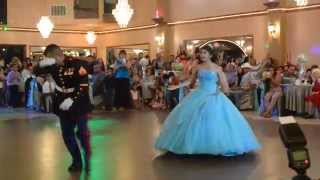getlinkyoutube.com-Jasmine's quinceanera  best (USMC) Father/daughter