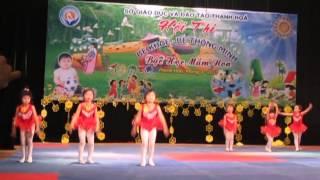 getlinkyoutube.com-Phần thi Aerobic của đội Yên Định trong Hội thi Bé khoẻ, bé thông minh cấp tỉnh 2013