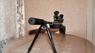 getlinkyoutube.com-Air Rifle Hatsan 125.177 cal. Air Rifle 4.5mm - Power Demonstration