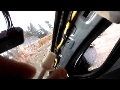 Как снять обшивку передней стойки на Hyundai Solaris 2