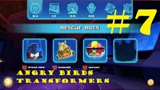 getlinkyoutube.com-Angry Birds Transformers #7 -  HEATWAVE, BUMBLEBEE and SOUNDWAVE