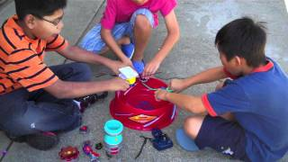 getlinkyoutube.com-Beyblade real life Season 4 episode 4 The Battle Goes On!