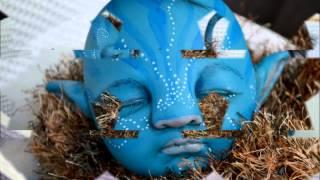 getlinkyoutube.com-Avatar Inspired Na'vi Reborn Baby Twins :)