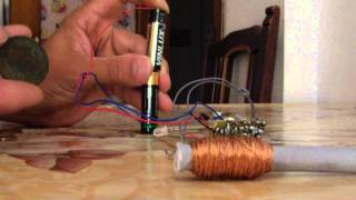 Detector de metales mini Pin-pointer a 3V.