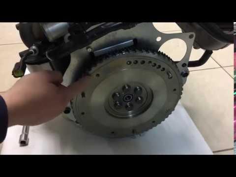 Двигатель Киа Спектра 1.6 S6D новыи, ремонт или б Часть 1.