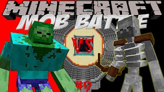 "MUTANT ZOMBIE VS MUTANT SKELETON! Битва мобов в Minecraft! #9 ""Mob Battle"""