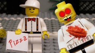 getlinkyoutube.com-Lego Zombie Pizza - Zombie Shorts
