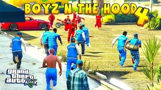 getlinkyoutube.com-GTA 5 ONLINE - BOYZ N THE HOOD PART 4 | BLOODS VS CRIPS